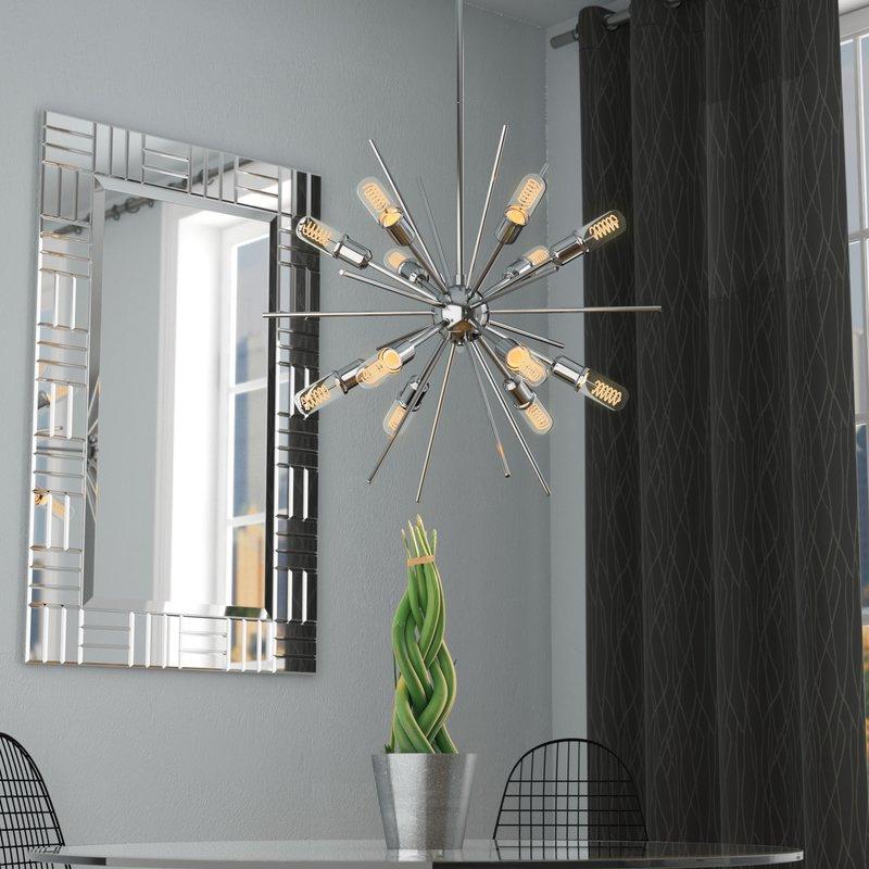 Fashionable Bacchus 12 Light Sputnik Chandeliers Regarding Corona 12 Light Sputnik Chandelier (View 11 of 30)