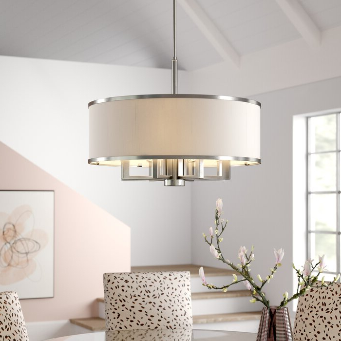 Fashionable Breithaup 7 Light Drum Chandelier In Breithaup 7 Light Drum Chandeliers (Gallery 7 of 30)