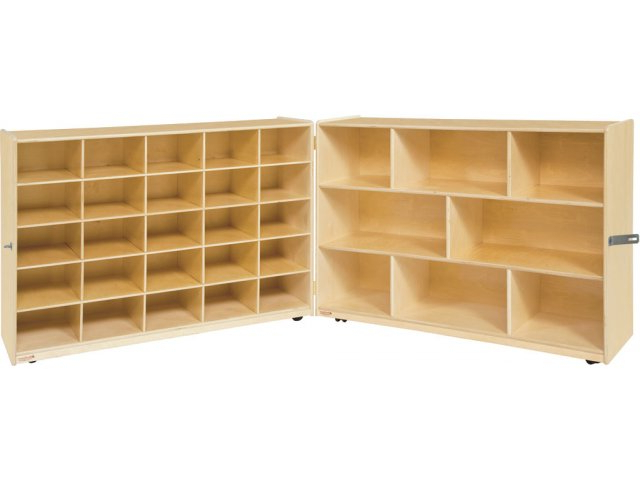 Fashionable Classroom Cubby Standard Bookcases Throughout Mobile Classroom Cubby Storage – 5 Shelves (Gallery 9 of 20)
