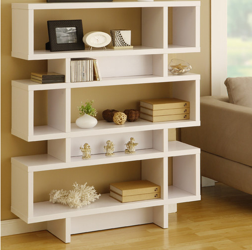 Fashionable Corner Bookcases By Hokku Designs Inside Top 7 White Bookcases For Your Home Office – Cute Furniture (View 10 of 20)