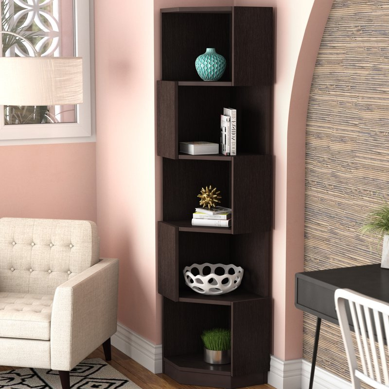 Fashionable Courtdale Corner Bookcase For Courtdale Corner Bookcases (View 2 of 20)