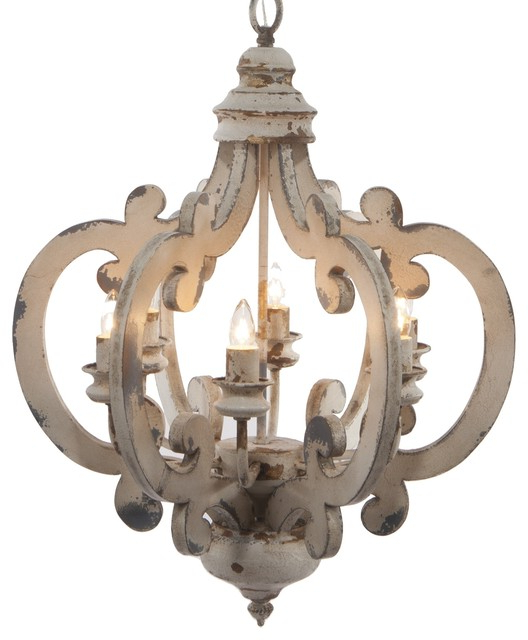 Fashionable Crown 6 Light Chandelier Intended For Diaz 6 Light Candle Style Chandeliers (Gallery 17 of 30)