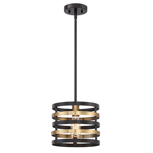 Fashionable Designers Fountain Mya Antique Bronze One Light Pendant For Buster 5 Light Drum Chandeliers (Gallery 10 of 30)