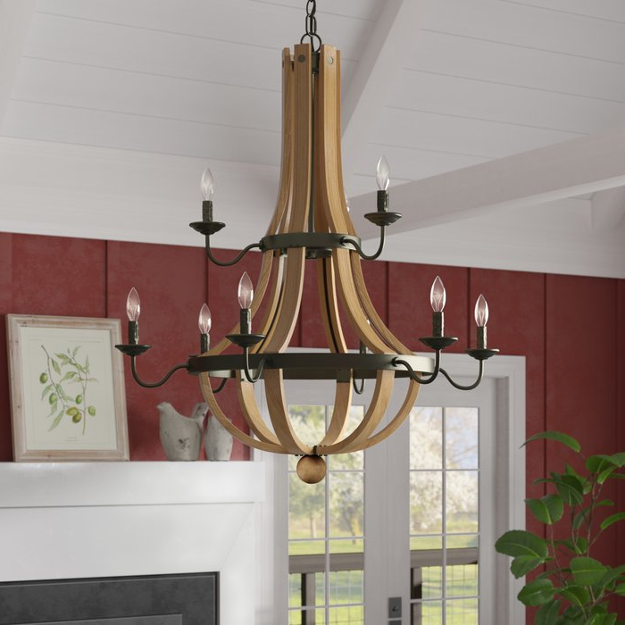 Fashionable Dimitri 9 Light Empire Chandelier Within Phifer 6 Light Empire Chandeliers (View 8 of 30)