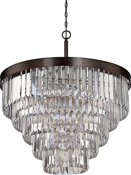 Fashionable Dyanna 9 Light Crystal Chandelier (View 20 of 30)