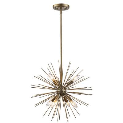 Fashionable Everett 10 Light Sputnik Chandeliers In Trent Austin Design Antonie 7 Light Sputnik Chandelier (View 13 of 30)