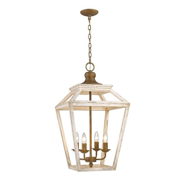 Fashionable Finnick 3 Light Lantern Pendants With Regard To Baugher 4 Light Lantern Pendant (Gallery 25 of 30)