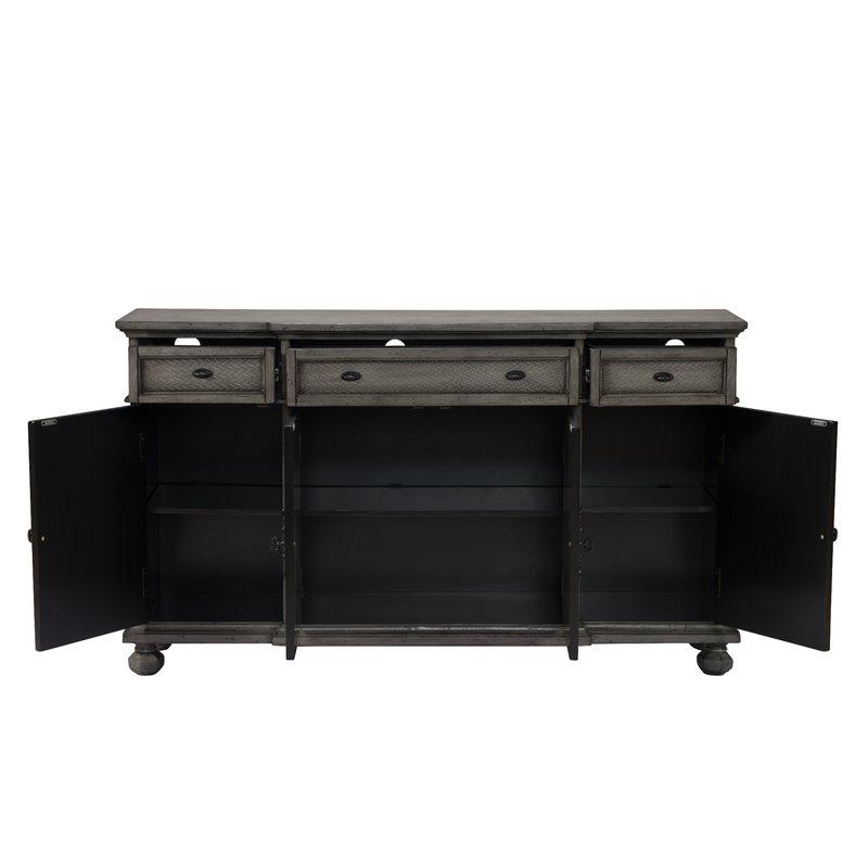 Fashionable Giulia 3 Drawer Credenza With Giulia 3 Drawer Credenzas (View 4 of 20)