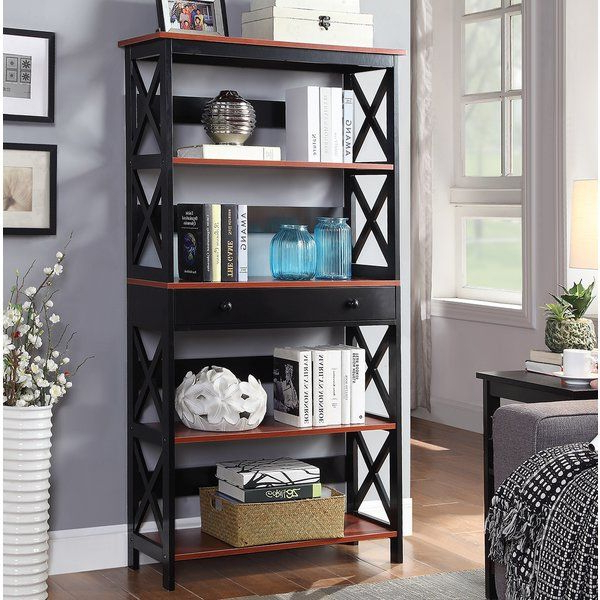 Fashionable Gracelynn 5 Tier Etagere Bookcase (Gallery 7 of 20)