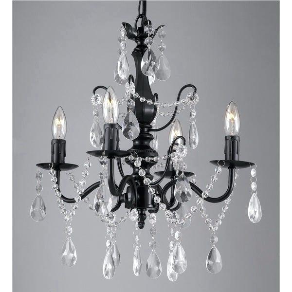 Fashionable Iron And Crystal Chandelier – Hirokostrauch (View 17 of 30)