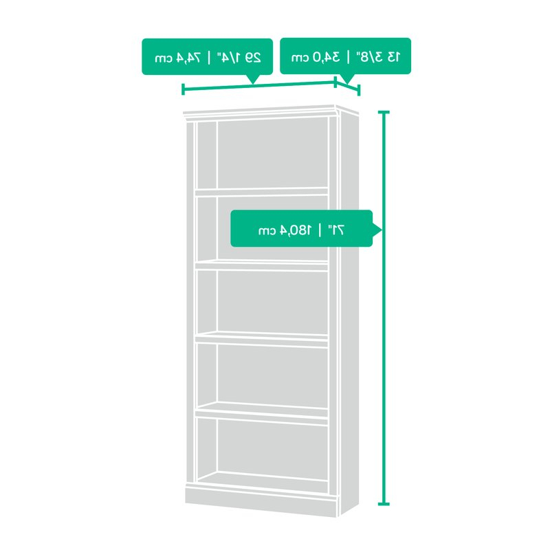 Fashionable Kayli Standard Bookcase With Kayli Standard Bookcases (View 6 of 20)