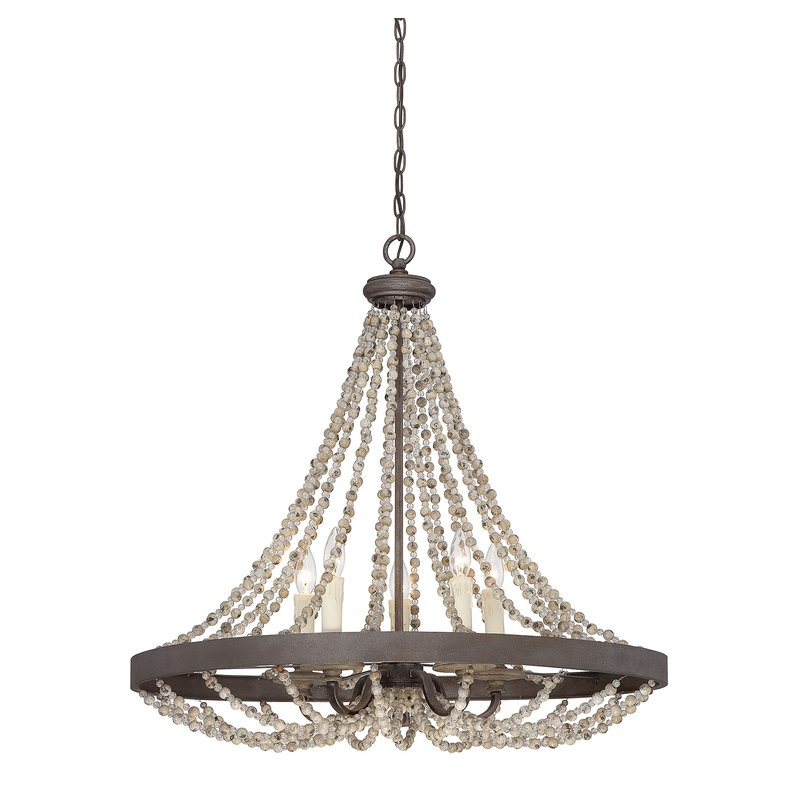 Featured Photo of Ladonna 5 Light Novelty Chandeliers