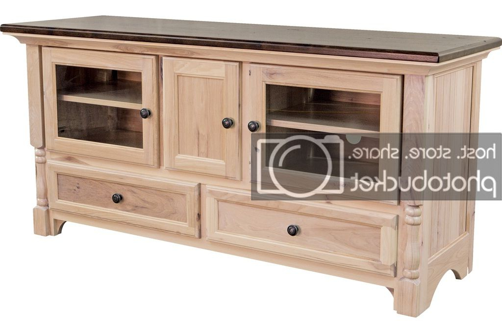 "Fashionable Palisade Sideboards Pertaining To Details About Amish Traditional Solid Wood Tv Stand Console Palisade 60""w (Gallery 16 of 20)"