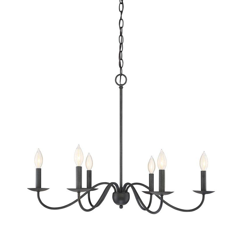 Fashionable Perseus 6 Light Candle Style Chandeliers Inside Perseus 6 Light Candle Style Chandelier In 2019 (Gallery 4 of 30)