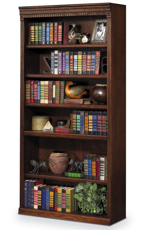 Fashionable Reynoldsville Standard Bookcase In  (View 5 of 20)
