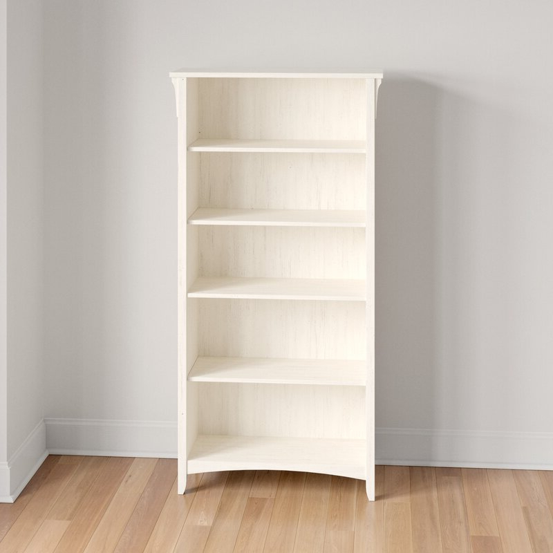 Fashionable Salina Standard Bookcase Inside Standard Bookcases (Gallery 5 of 20)