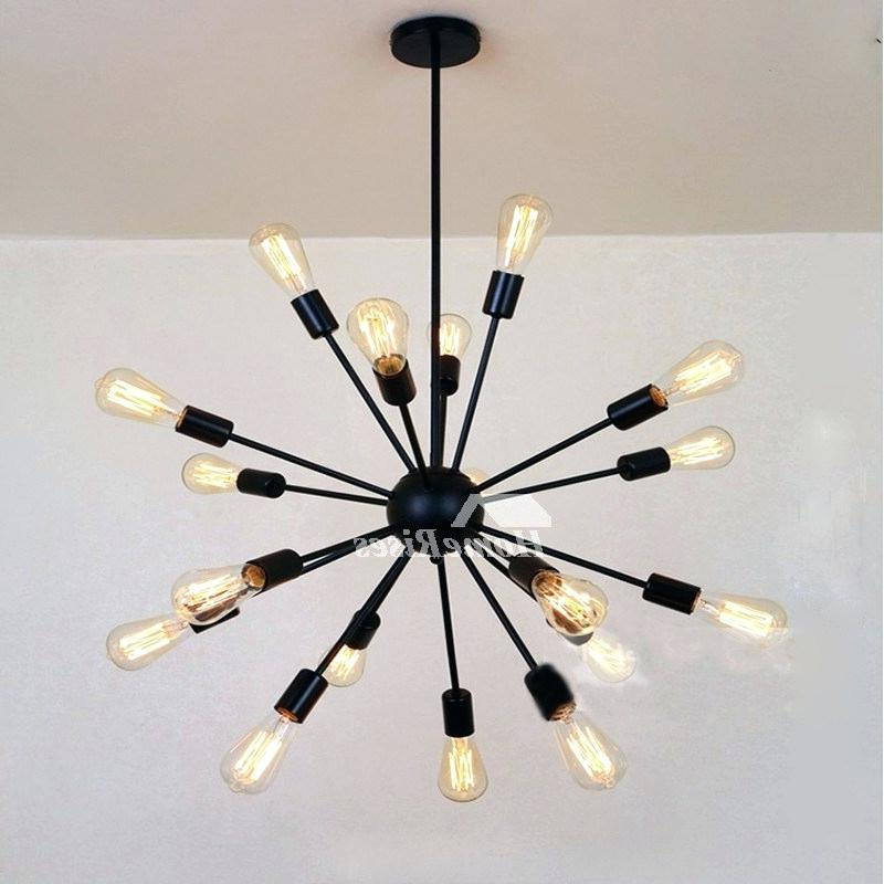 Fashionable Sputnik 18 Light Chandelier Regarding Defreitas 18 Light Sputnik Chandeliers (Gallery 10 of 30)