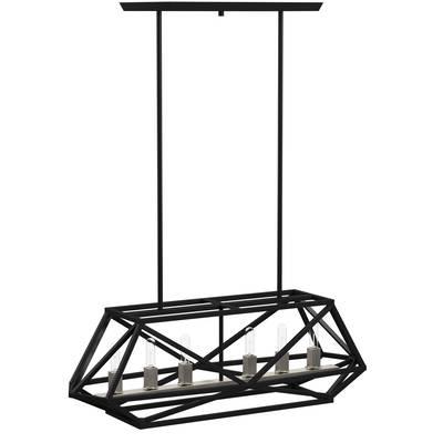 Fashionable Tabit 5 Light Geometric Chandeliers With Tabit 5 Light Geometric Chandelier (View 4 of 30)