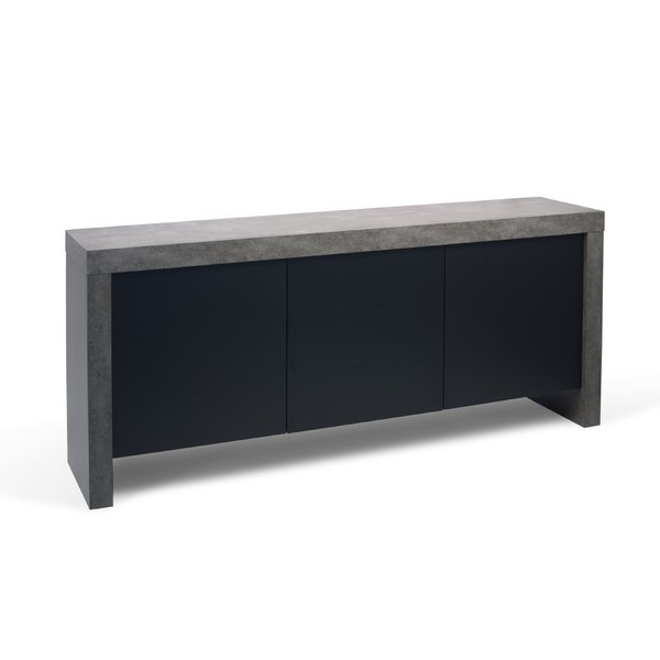 Fashionable Thite Sideboards With Regard To Modern & Contemporary Concrete Sideboard (Gallery 16 of 20)