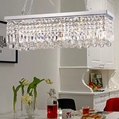 Fashionable Verdell 5 Light Crystal Chandeliers Within Three Posts Verdell 5 Light Crystal Chandelier (View 14 of 30)