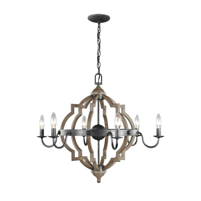 Favorite 6 Candle Chandelier – Alesport (View 18 of 30)