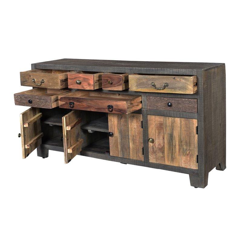 Favorite Adkins Sideboards Intended For Moultry 7 Drawer 4 Door Sideboard (View 9 of 20)