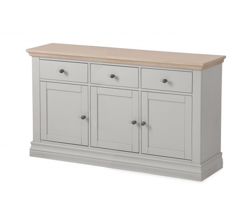 Favorite Annecy Stone Grey Large Sideboard Throughout Annecy Sideboards (Gallery 1 of 20)