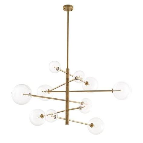 Favorite Bailey Antique 6 Light Sputnik Chandelier Inside Eladia 6 Light Sputnik Chandeliers (View 13 of 30)
