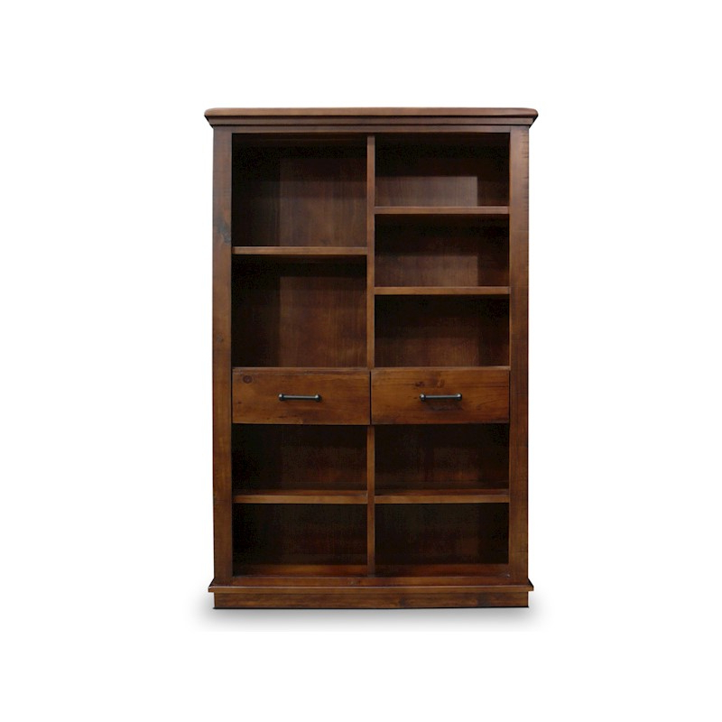 Favorite Beckett Rustic Solid Timber Staggered Cube Bookcase In Beckett Corner Bookcases (View 15 of 20)