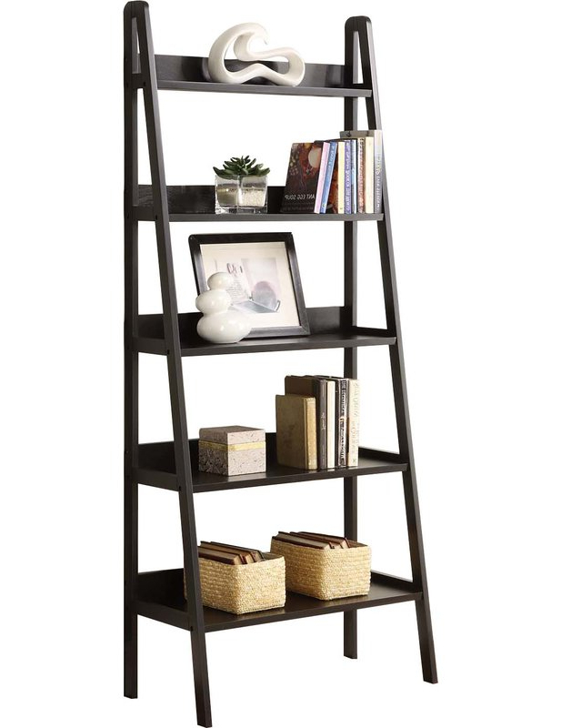 Favorite Blevens A Frame Ladder Bookcases Throughout Ladder Bookcase (Gallery 8 of 20)
