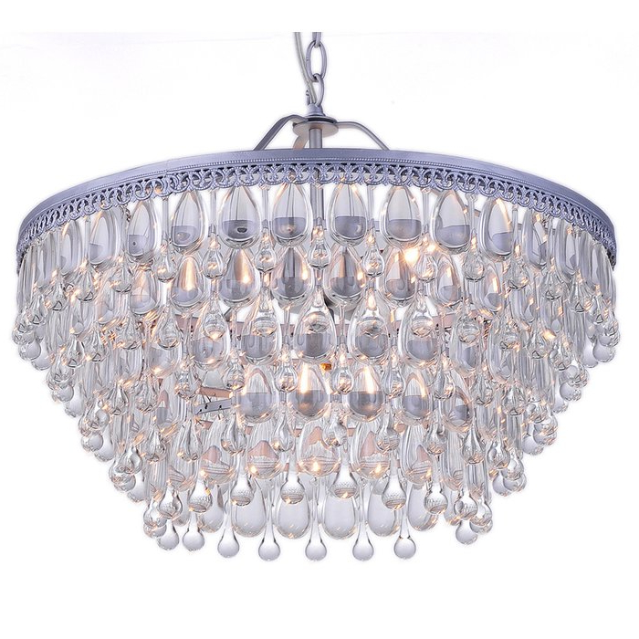 Favorite Bramers 6 Light Novelty Chandeliers For Silloth 6 Light Crystal Chandelier (Gallery 10 of 30)