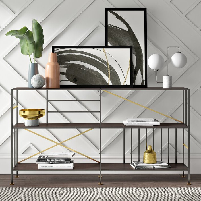 Favorite Cutlip Etagere Bookcase Inside Blairs Etagere Bookcases (Gallery 14 of 20)