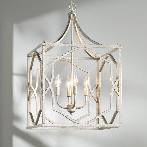 Favorite Destrey 3 Light Lantern Square/rectangle Pendants With Destrey 4 Light Lantern Square / Rectangle Pendant (View 9 of 30)