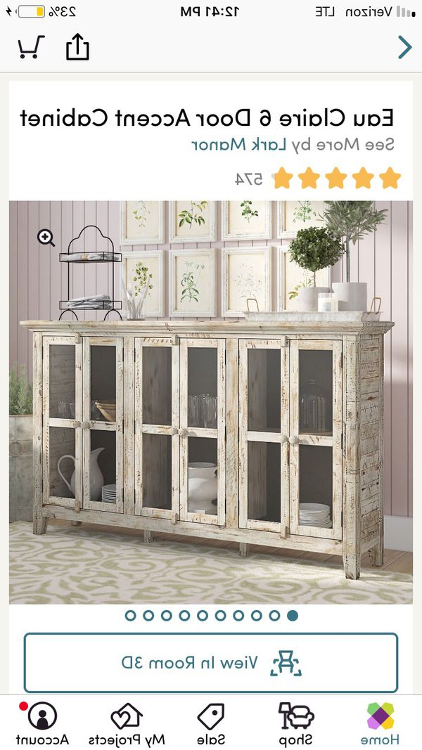 Favorite Eau Claire 6 Door Accent Cabinets For Eau Claire 6 Door Accent Cabinet For Sale In Trenton, Nj – Offerup (View 11 of 20)