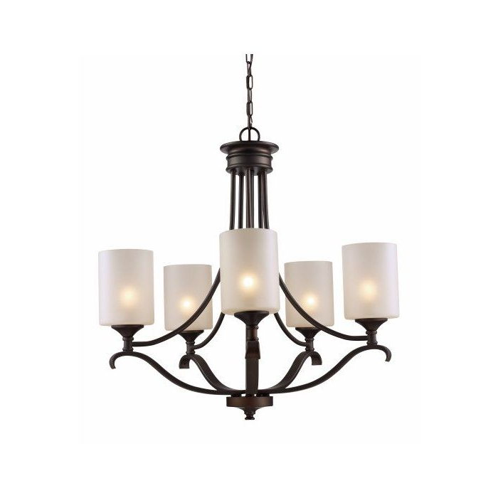Favorite Glenshaw 5 Light Shaded Chandelier (View 2 of 30)