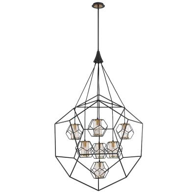 Favorite Kenroy Home Arne 5 Light Black Chandelier With Black Shade With Regard To Blanchette 5 Light Candle Style Chandeliers (Gallery 19 of 30)
