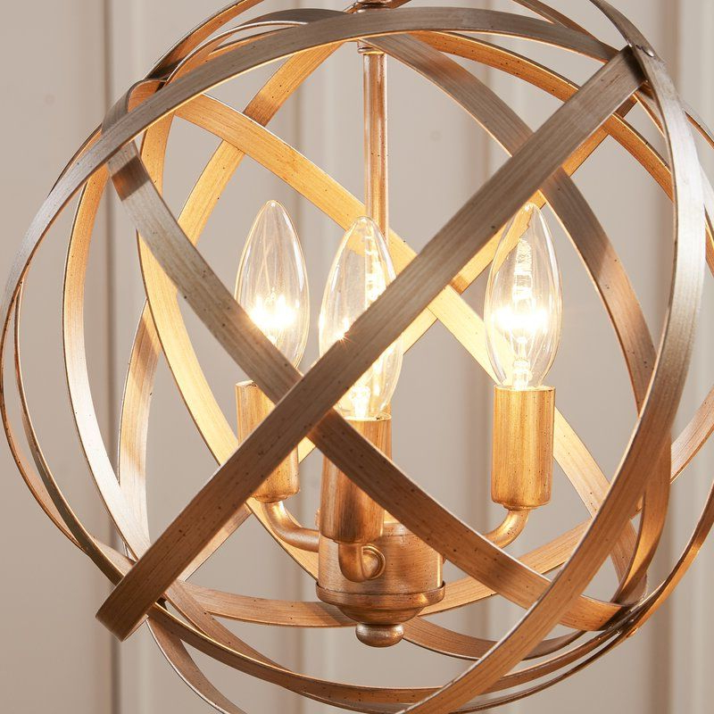 Favorite Kierra 4 Light Unique / Statement Chandelier (View 8 of 30)