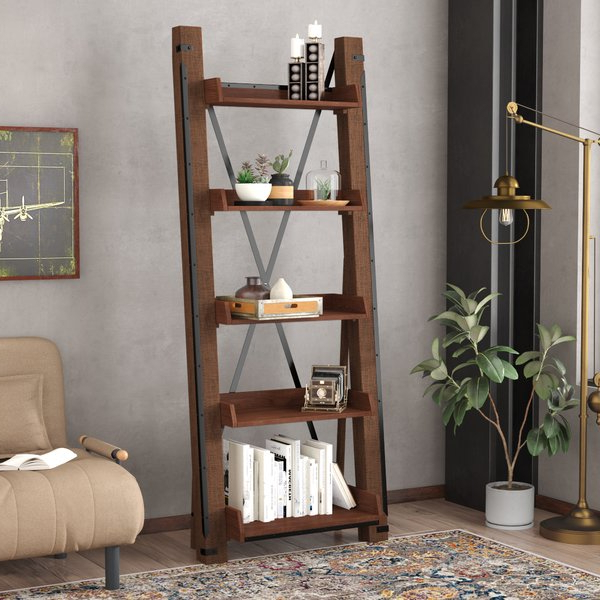 Favorite Leandra Ladder Bookcases In Leandra Ladder Bookcase (Gallery 2 of 20)