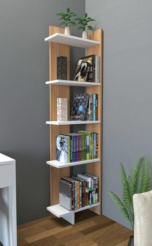 Favorite Lorena Ladder Corner Unit Bookcase Pertaining To Corner Unit Bookcases (Gallery 1 of 20)