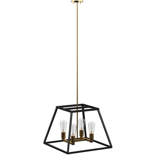 Favorite Modern & Contemporary Harlow 4 Light (View 30 of 30)