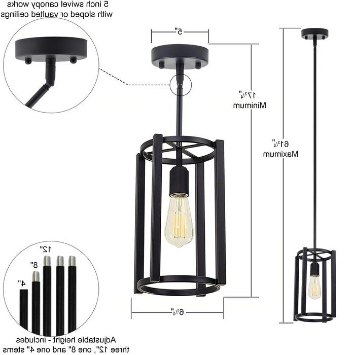 Favorite Nolan 1 Light Lantern Chandeliers Within Nolan 1 Light Lantern Chandelier (View 4 of 30)
