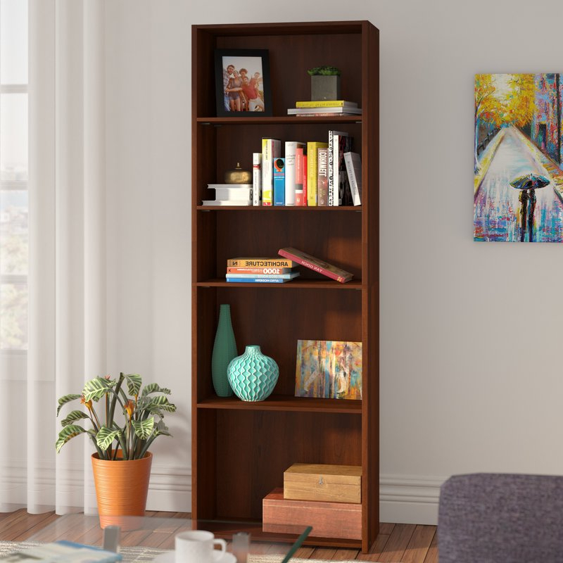 Favorite Ryker Standard Bookcases For Ryker Standard Bookcase (Gallery 2 of 20)