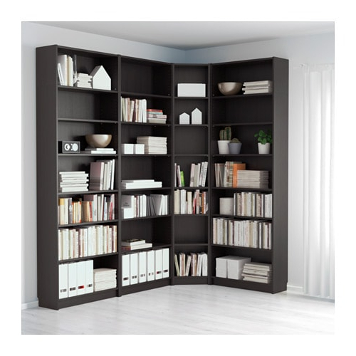 Favorite Tisha Corner Bookcases With Billy – Bookcase, White (View 16 of 20)