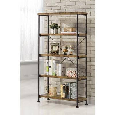 Favorite Williston Forge Cifuentes Single Etagere Bookcase & Reviews With Regard To Cifuentes Dual Etagere Bookcases (View 12 of 20)