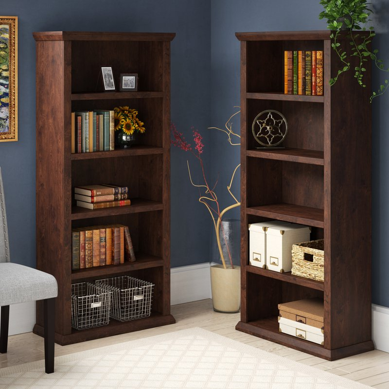Ferrell Standard Bookcase With Most Up To Date Kayli Standard Bookcases (Gallery 17 of 20)