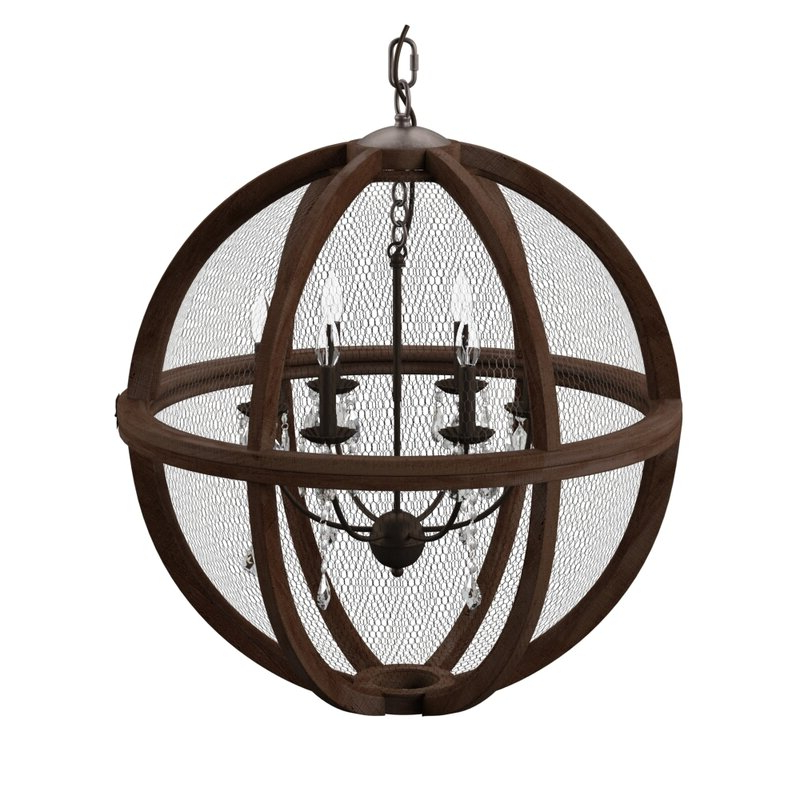 Filipe Globe Chandeliers For Fashionable Filipe Globe Chandelier (View 7 of 30)
