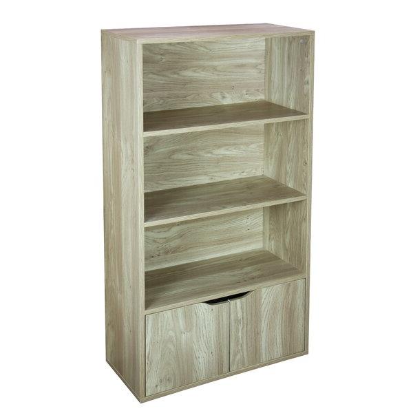 Finkelstein Cube Bookcases Inside Best And Newest Kiersten 3 Tier Wood Standard Bookcasewinston Porter (View 8 of 20)
