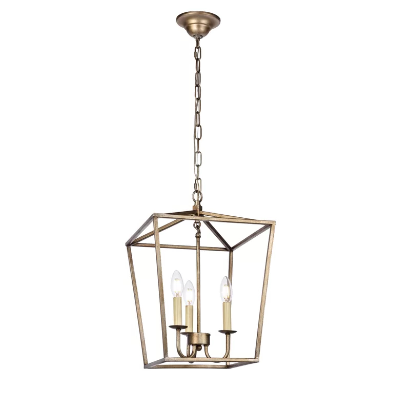 Finnick 3 Light Lantern Pendant With Most Popular Finnick 3 Light Lantern Pendants (Gallery 14 of 30)