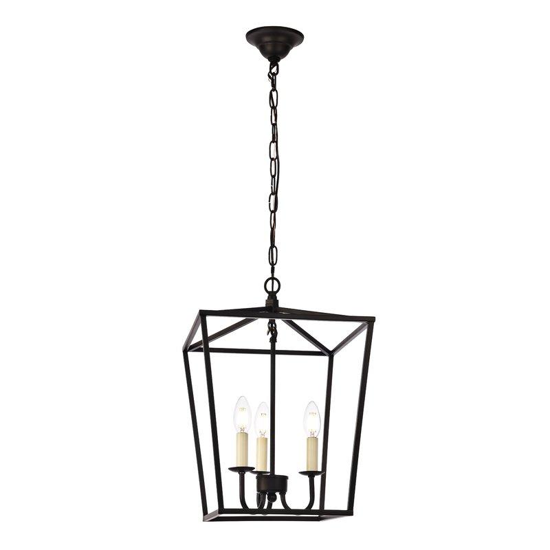 Finnick 3 Light Lantern Pendants Intended For Fashionable Finnick 3 Light Lantern Pendant (Gallery 1 of 30)