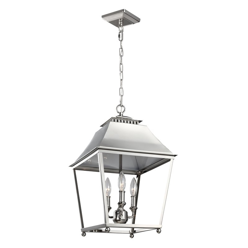 Finnick 3 Light Lantern Pendants Within Most Up To Date Darwin 3 Light Lantern Geometric Pendant (Gallery 19 of 30)